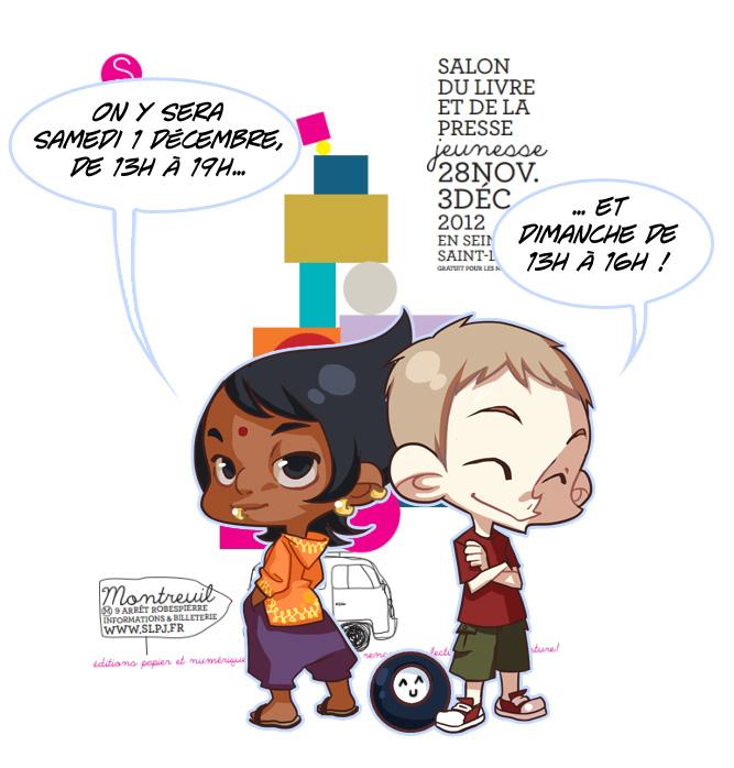 Salon du livre jeunesse de montreuil 2012 zimra - Salon livre jeunesse ...